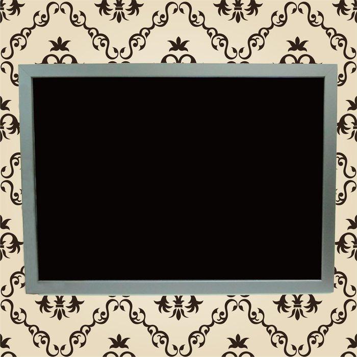 ~廣告舖~  木框-螢光繪畫板 (60cm x 45cm)