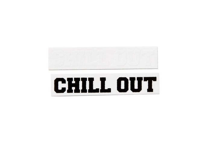 "[ LAB Taipei ] CHILL OUT ""STICKERS"" (3"")"