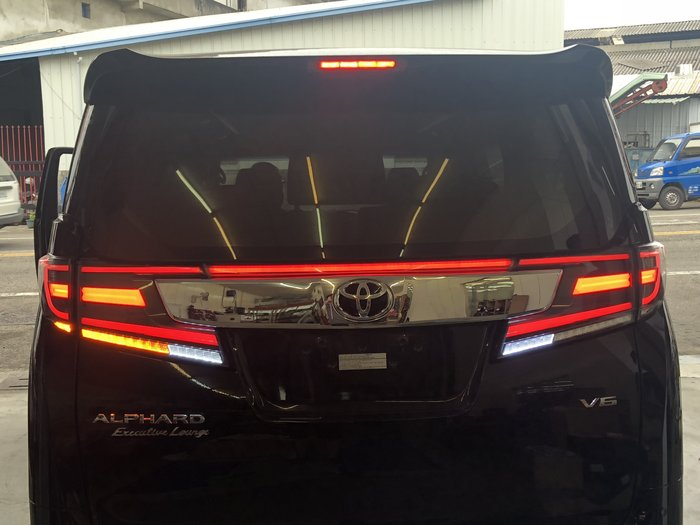 合豐源 車燈 Alphard VELLFIRE LED 導光 尾燈 後燈 方向燈 埃爾法 威爾法 15 16 17 18