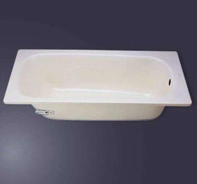 【 大尾鱸鰻便宜GO】Mr.Bear 名品 V-40 搪瓷浴缸 琺瑯鋼板浴缸 140 x 70 x 41 公分
