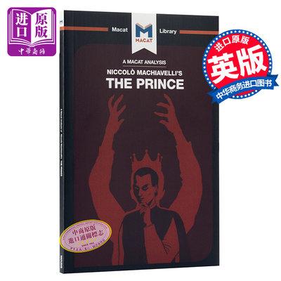 君主論 MACAT解讀系列 英文原版 The Prince Riley Quinn and Ben Worthy 政治