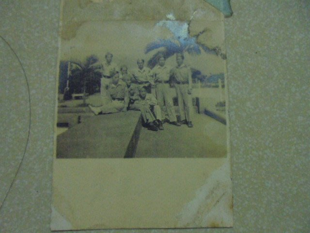 早期民國35年台灣警訓班黑白照片1張 .牛哥哥二手藏書