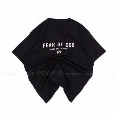 [FDOF] 預購 FEAR OF GOD 6TH INSIDE OUT TEE 第六季主線 日本限定 字母短TEE