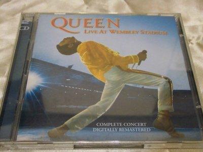 Queen 皇后合唱團 -- Live at Wembley Stadium (2CD)