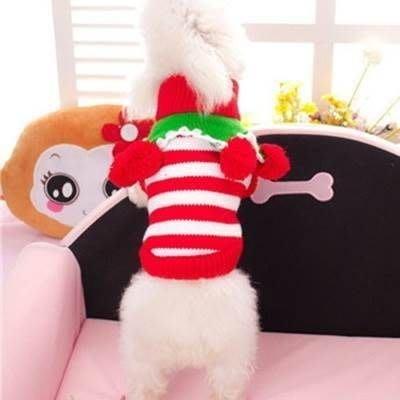 寵物衣 秋冬狗狗衣服-節日款繽紛聖誕毛衣寵物用品3色73ih26[獨家進口][米蘭精品]