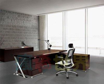 《瘋椅世界》OA辦公家具全系列 訂製高級主管桌 EN-A9035T (董事長桌/老闆桌/辦公桌/工作桌)
