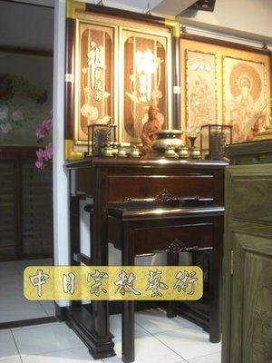 【現代佛堂設計鑒賞60】神明廳佛俱精品神桌佛桌神櫥公媽桌神像佛像祖先龕神聯佛聯製作