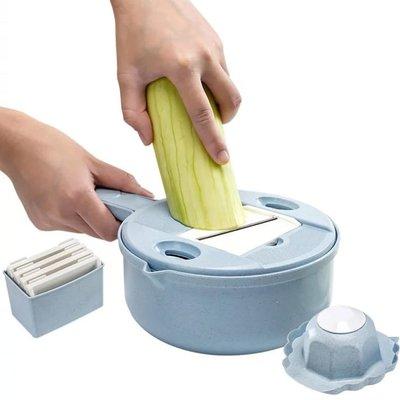 多功能小麥秸稈料理切菜刨絲器 廚房用品