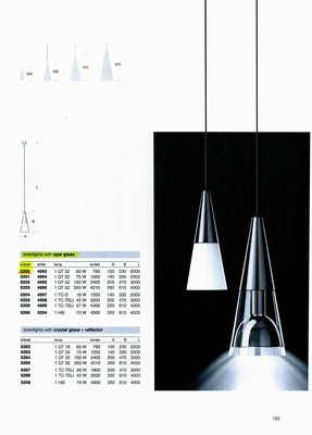 德國名牌 LIMBURG PENDANT LUMINAIRES MODEL NO. 5200