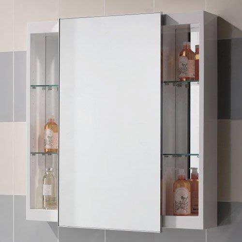 《101衛浴精品》台灣製 70CM 100%全防水 白色鋼琴烤漆 橫移鏡箱櫃 尺寸可另外訂製【免運費 可貨到付款】