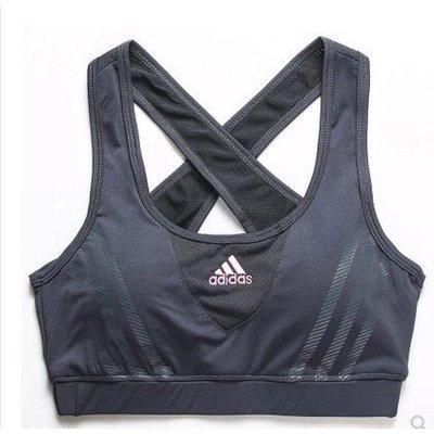 新款女子運動背心 女子短背心彈力健身 瑜伽短背心(帶胸墊)白色