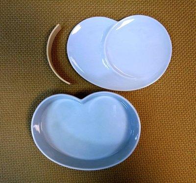日本陶瓷【小田陶器】粉藍 陶瓷飯盒 保...