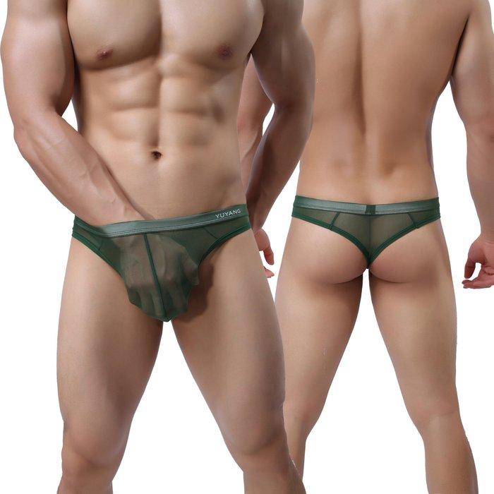 性感內衣_男士網紗情趣內褲 男式性感內衣,任選3件 0041