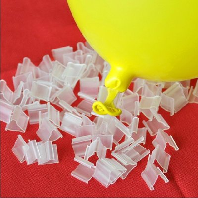 氣球 婚禮道具 節日裝飾 生日裝扮乳膠氣球封口夾配件氣球夾子實用適用氣球封口卡子氣球夾