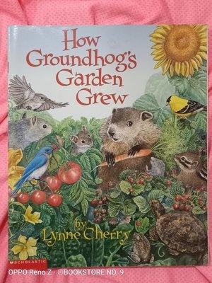 *NO.9 九號書店* How Groundhog's Garden Grew 英文繪本童書 SCHOLASTIC