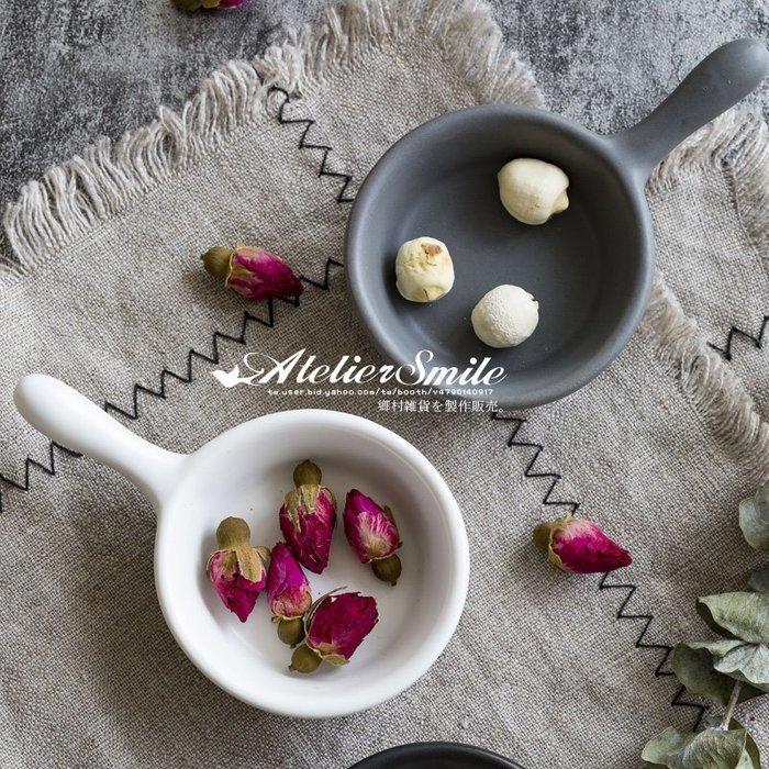 [ Atelier Smile ] 鄉村雜貨 北歐風 馬卡龍色  陶瓷釉下彩工藝 迷你小碟  醬油碟 (現+預)