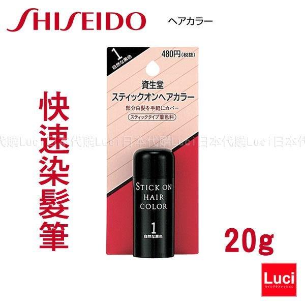 日本 資生堂 染髮筆 20g 快速染髮筆 SHISEIDO HAIR COLOR LUCI日本空運