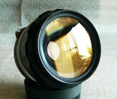 【悠悠山河】收藏級 黃金豹眼--Nikon 35mm F2 non ai 大光圈 成像超銳利 鏡片透亮無刮無霉無霧無塵