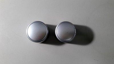 三菱 GRUNDER 冷氣面板 旋鈕 銀色 兩顆一拍