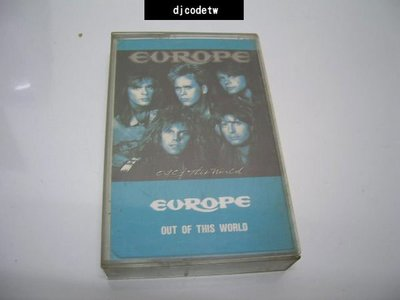 【djcodetw-Tape】歐洲合唱團Europe - Out of this world