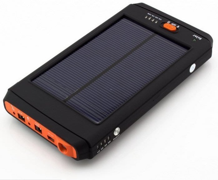 太陽能筆記本 XH1120 充電器12000MAH 毫安培培太陽能電源 迷你攜帶型智慧太陽能筆記本移動電源