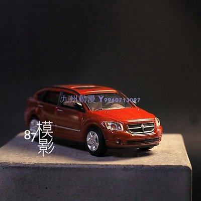 九州動漫Dodge Caliber 2007 道奇 越野車 RICKO 1:87