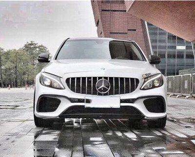 《SPY國際 》Benz W205  S205 C300 改 C65S 前保桿