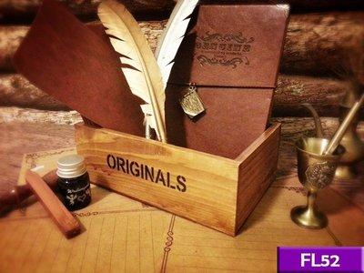 【現貨】實木收納盒 (舊木色) FL5...