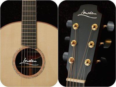 【又昇樂器 . 音響】愛爾蘭手工 Lowden F50 AB/AD Beveled 40週年紀念款 非洲烏木 民謠吉他