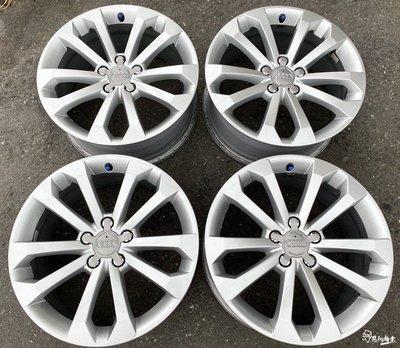 二手/中古/鋁圈 原廠 Audi 奧迪 Q5 18吋 5孔112 銀 PASSAT A8 A7 A4 B5 B7 A5