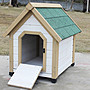 人氣熱賣款!高檔室外防水防腐木制狗屋小型犬狗房子泰迪狗屋