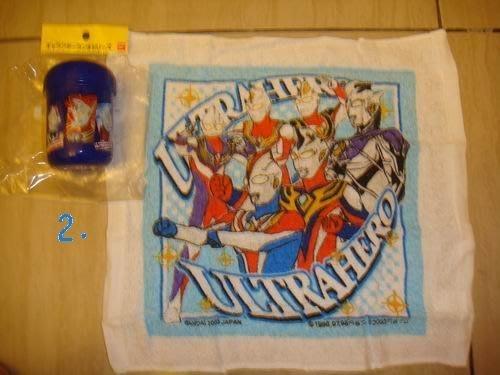 ~FUJIJO~現貨~超特價~日本限定販售【鹹蛋超人】 攜帶毛巾罐組