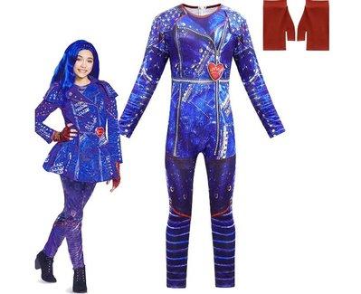 萬聖節變裝秀化裝舞會兒童表演服裝女童cosplay派對裝扮Descendants星光繼承者 (488)