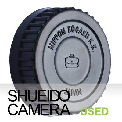 集英堂写真機【1個月保固】美品 NIKON NIPON KOGAKU K.K 原廠 經典造型 後鏡頭蓋 #6 15879