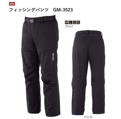 五豐釣具-GAMAKATSU 2018秋磯最新款帥氣釣魚褲GM-3523特價2800元