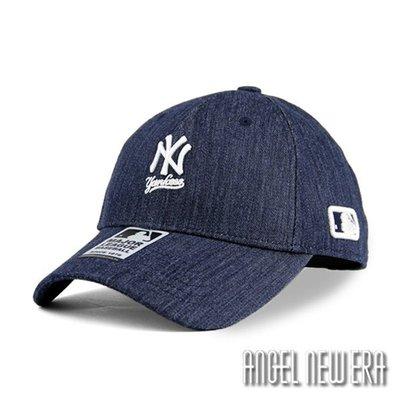 【PD帽饰】【MLB Old Fashioned Cap】NY 洋基 小Logo 原色單寧 老帽【ANGEL NEW ERA 】
