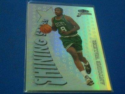 阿克漫275-21~NBA-1998-99年Fleer Brilliants特卡1:400亮卡 Antoine Walker只有一張