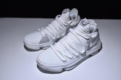Nike Zoom KD10 Anniversary 白灰 低幫 休閒 運動 籃球鞋 897815-100