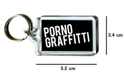 〈可來圖訂做-鑰匙圈〉色情塗鴉 Porno Graffitti 壓克力雙面鑰匙圈 (可當吊飾)
