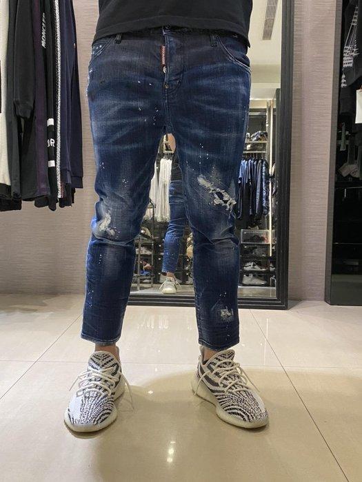 DSQUARED 2 合身 牛仔褲 意大利製造 D2 牛仔褲 現貨31~34腰