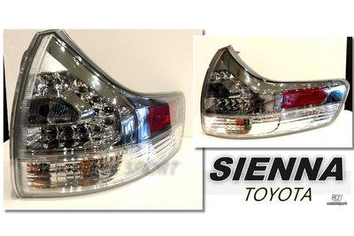 小傑車燈精品--全新 TOYOTA SIENNA 10 11 12 13 14 年 原廠件 尾燈 後燈 外側 單顆價