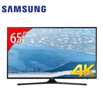 9.9成新! 三星 Samsung 65吋 4K LED 智慧型 液晶電視 UA65KU6000WXZW