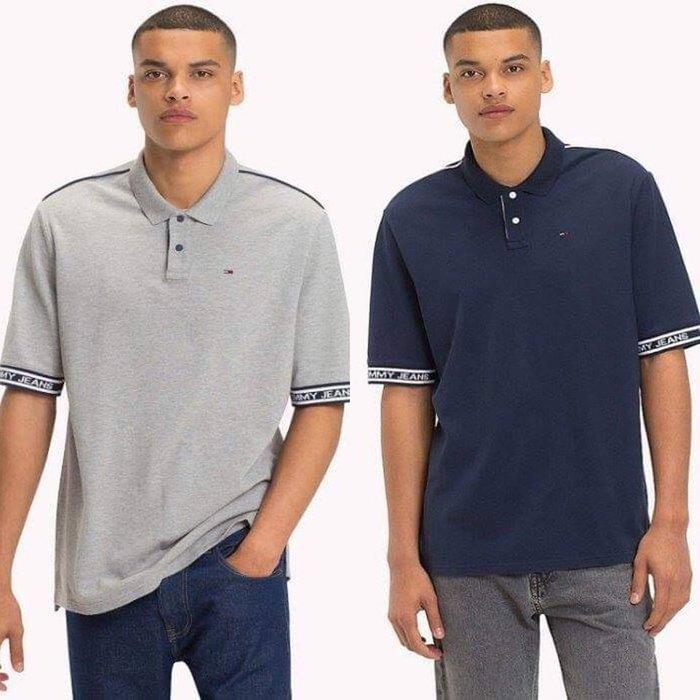 【現貨】 TOMMY JEANS 男 寬鬆版POLO衫 保證正品 歡迎來店參觀選購