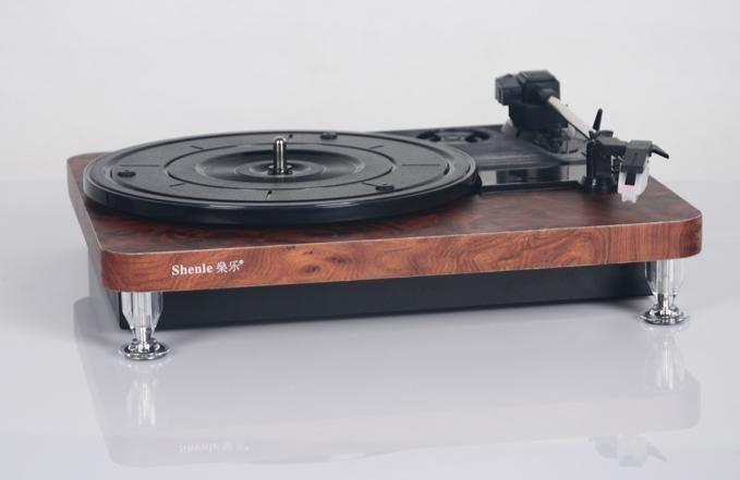 【易發生活館】新品老式電唱機 黑膠唱片機 留聲機仿古 lp復古唱機 USB播放機 刻錄機