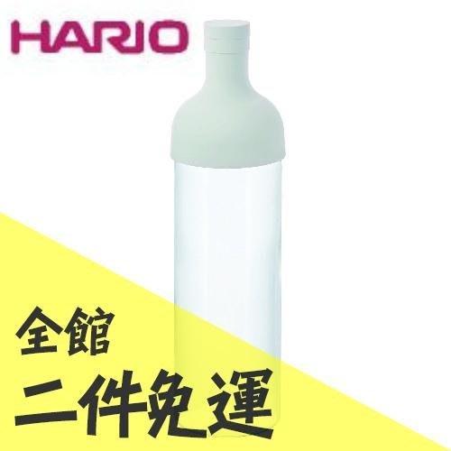 空運 日本 HARIO FIB-75 (淺灰色) 酒瓶型 冷泡茶壺 750ml 附濾網 【水貨碼頭】