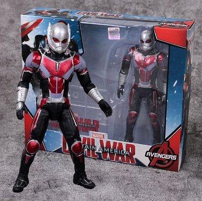 Marvel Antman 正版復仇者聯盟4蟻人具關節可動模型擺件 S020 15122019