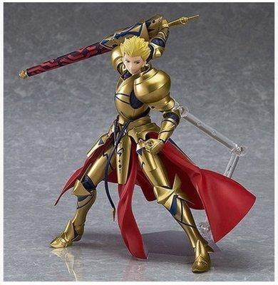 figma 300#Fate Archer 英雄王 吉爾伽美什金閃閃超可動手辦