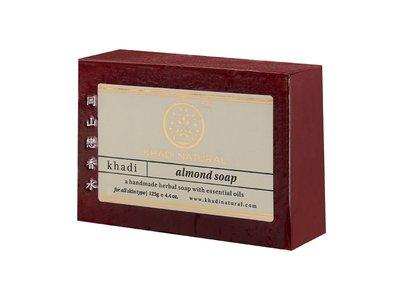 岡山戀香水~印度 Khadi 草本杏仁手工精油香皂125g~優惠價:55元