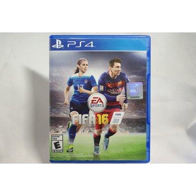 [耀西]二手 美版 SONY PS4 國際足盟大賽 FIFA 16 含稅附發票
