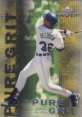 2000 Upper Deck MVP - Pure Grit #G6 Carlos Beltran